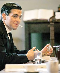 Rob James-Collier is Thomas Barrow ( Downton Abbey)..so not a nice guy….great villain
