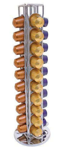 Swissmar Capstore Vista Storage Rack for 40 Nespresso Coffee... need this for my awesome coffee maker