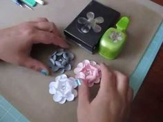 ▶ Tutorial ~ 5 Petal Paper Flower As Requested - YouTube