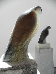 Jane Rosen-'Monk Bird (left)'-Sears-Peyton Gallery