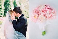 Blush Pink and white wedding bouquet by Blossoms Events. Pasha Belman Photography. Weddings at Debordieu Club in South Carolina near Charleston