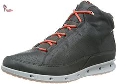 Ecco Cool, Chaussures Multisport Outdoor Femme, Gris (Dark SHADOW01602), 38  EU
