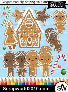 gingerbread christmas image