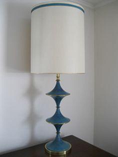 Very Mod Mid Century Modern Rembrandt Table Lamp | EBay