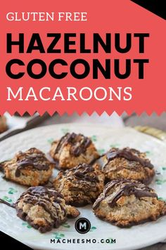 Business Cookware Ought To Be Sturdy And Sensible Pin These Gluten Free Chocolate Hazelnut Coconut Macaroons Shredded Coconut And Ground Hazelnuts Baked In To Little Sweet Treats, And Then Covered In Chocolate. An Easy And Yummy Dessert Idea For Kids, For New Year's Desserts, Single Serve Desserts, Trifle Desserts, Desserts For A Crowd, Winter Desserts, Cute Desserts, Party Desserts, Delicious Desserts, Dessert Recipes