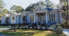 Lovely #ranch #home design. Check more at www.northcarolinahomes.com
