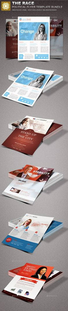 Voter Registration Drive Flyer Template Pinterest Flyer template - political brochure