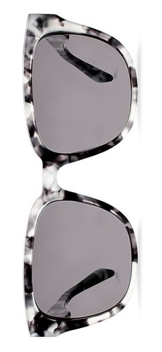 The sleek, marbled frames of these Warby Parker sunglasses totally give off a retro-chic vibe.