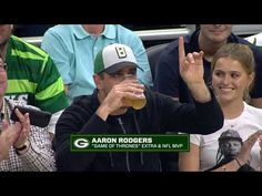 Aaron Rodgers Couldn't Finish Beer Chug At Eastern Conference Finals Game 5 Indianapolis Colts, Cincinnati Reds, Football Rings, Eastern Conference Finals, Dallas Cowboys, Pittsburgh Steelers, Nfl San Francisco, Chugs, Aaron Rodgers