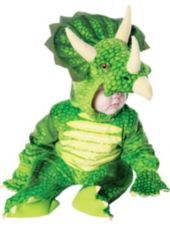 Baby Green Triceratops Costume - Party City Possibility for Halloween.