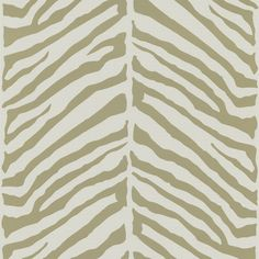 "Echo Design 33' x 20.5"" Zebra Print 3D Embossed Wallpaper"