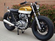 Honda CB350 Brat Style Custom