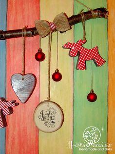 Мастер-класс по созданию Новогодней гирлянды в Скандинавском эко-стиле – Ярмарка Мастеров Drop Earrings, Dolls, Christmas Ornaments, Holiday Decor, Handmade, Home Decor, Xmas Ornaments, Hand Made, Decoration Home