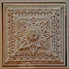 Dies - Marianne Creatables; Spellbinders Marvelous Squares; Spellbinders Persian Motifs & Persian Accents
