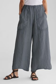 Women Summer New Fashion Linen Casual Pants – ebuytrends Vetements Clothing, Pants Pattern, Linen Pants, Linen Dresses, Wide Leg Pants, Diy Clothes, Casual Pants, Trendy Fashion, Blouse