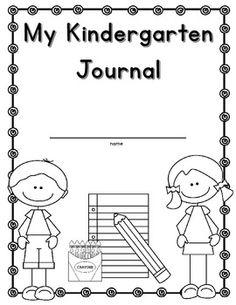 49 Best Kindergarten Journals images in 2017