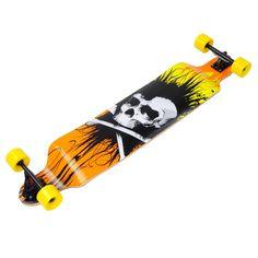 "Amazon.com : 41"" Professional Longboard Complete Cruiser Speed skateboard Downhill Maple Deck : Sports & Outdoors"