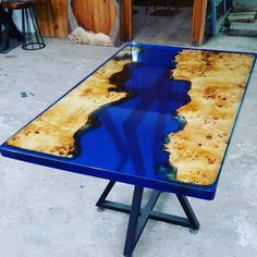 [New] The Best Home Decor (with Pictures) These are the 10 best home decor today. According to home decor experts, the 10 all-time best home decor. Wood Resin Table, Epoxy Resin Table, Wooden Tables, Resin Furniture, Handmade Furniture, Glow Table, A Table, Raw Wood, Wood Slab