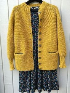 Charlotte Cardigan pattern by Carrie Bostick Hoge Cardigan Pattern, Jacket Pattern, Crochet Jacket, Knit Crochet, Knit Basket, Knitting Designs, Knit Patterns, Japanese Crochet Patterns, Pulls