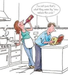 The liberal interpretation of cooking instructions :)