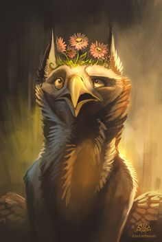 How to Make a Gryphon Shut Up by AlectorFencer.deviantart.com on @deviantART