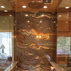 Stone Slab On Shower Wall   Google Search
