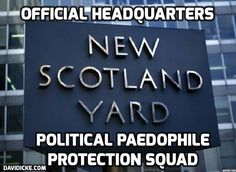 Scotland Yard detective 'removed from paedophile probe after naming politicians'. IT'S THE ROTHSCHILD-POLITICAL-PAEDOPHILE-PROTECTION-SQUAD. http://www.telegraph.co.uk/news/uknews/crime/10969872/Scotland-Yard-detective-removed-from-paedophile-probe-after-naming-politicians.html