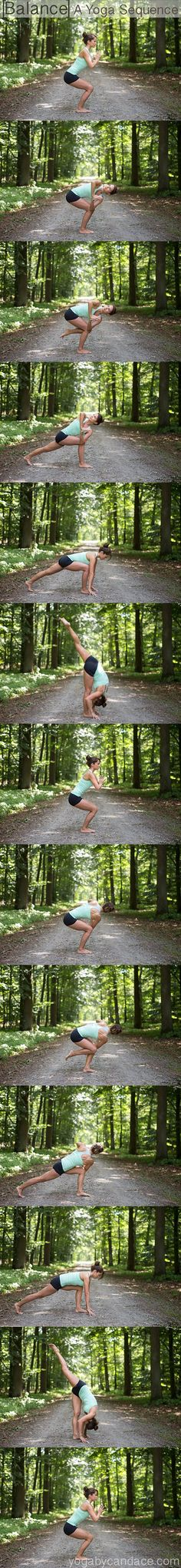 Pin it! A challenging yoga sequence you can do right from your home.