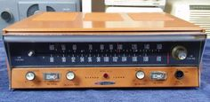 Vintage Heathkit AM FM Stereo Tube Tuner Model AJ-41 #Heathkit