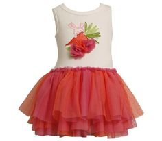 Bonnie Baby Baby Girls Carrot Tutu Dress Orange 12 Months -- Check out this great product.