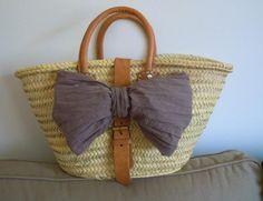 LA CARABA EN BICICLETA...: VERANO EN EL BOLSO Hermes, Straw Bag, Bags, Fashion, Bicycle, Summer Time, Handbags, Moda, Fashion Styles