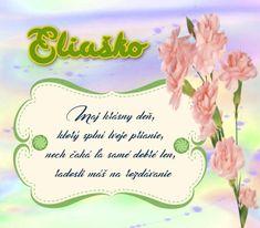 Eliaško - prianie k meninám