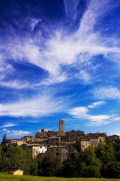 San Casciano dei Bagni, Tuscany, Italy