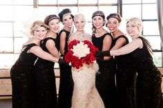 20s costume wedding!  Photo By: Jessica B Photography