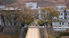 The Border between China and North Korea, at the Tumen.