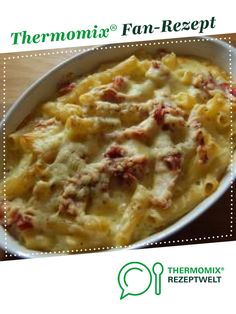 Pasta and ham gratin from Stefanieee. A Thermomix recipe from the category other main dishes on www.de the Thermomix Community. The post Noodle ham gratin appeared first on Tasty Recipes. Hamburger Meat Recipes, Sausage Recipes, Soup Recipes, Vegetarian Recipes, Slow Cooker Soup, Slow Cooker Recipes, Crockpot Recipes, Noodle Recipes, Health Desserts