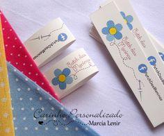 Quilt Labels, Fabric Labels, Label Design, Branding Design, Felt Crafts, Diy And Crafts, Paper Bag Design, Cookie Packaging, Printable Labels