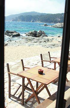 Restaurante Tragamar   Calella de Palafrugell   Costa Brava