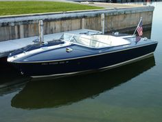shot of Black & Blue, Chris Craft XK19 for gallery wall...