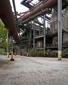 post-industrial parks - inspiration
