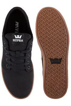 Supra Stacks II Schuh (black gum)