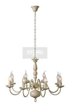 Lucide #Żyrandol Barrocco 78362/08/21 : #Lampy wiszące metalowe : Sklep internetowy #ElektromagLighting #cottage