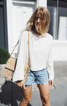 Summer Street Style Denim Shorts