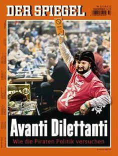 Avanti Dilettanti - Pirate Party - new way engaging in politics