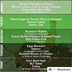 You can now order from #fitfoodmaui and pick it up at the studio!! #Repost @fitfoodmaui And .. Here .. We .. Go.  This weeks menu hot off the press! No need to push that button to make sure there's enough chili for everyone but you do need to let us know if you want us to add you on. #mauimanameals #paleo #foodprep #fitfood #awardwinningchili #food #grindz #gymlife #crossfit #healthy #healthyeating #mealprep #mealprepsunday #fitfoodmaui #chili #Bodybalancemaui