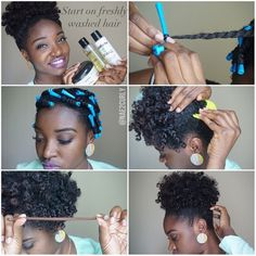 @nae2curly I love rocking a high puff! This time with the help of @hydratherma I have SOFT, SHINY AND MOISTURIZED curls! 1) I used @hydrathermanaturals Hair Growth Oil as a prepoo. Next, I washed and conditioned my hair with #HydrathermaNaturals Scalp Soothing Shampoo Bar & Amino Plus Protein Deep Conditioning Treatment 2) I used their Protein Balance Leave-In Conditioner, Hair Growth Oil & Aloe Curl Enhancing Twisting Cream for each section 3) I two strand twist all the way down and added…