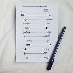 grafika arrow, drawing, and art Trendy Tattoos, New Tattoos, Small Tattoos, Tatoos, Paar Tattoo, Arrow Drawing, Harry Potter Tattoos, Arrow Tattoos, Sister Tattoos