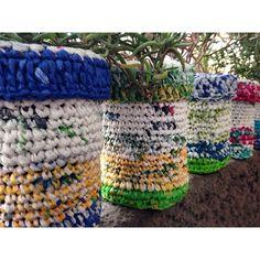 #creaenverde #crochet #handmade #hechoamano #eco #ecoideas #ecofriendly #upcycling #recycled #reciclaje #reciclado #weaving #knitted #plastic #plastico #bag #bolsas #ccplm #navidad #christmas