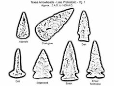 arrowheads coloring pages - photo#3