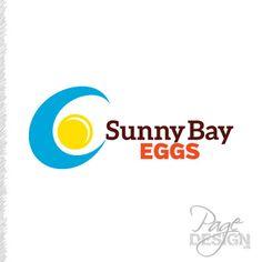 Sunny Bay Eggs logo Egg Logo, Egg Designs, Tech Logos, Page Design, Sunnies, Eggs, Easter Ideas, School, Blog